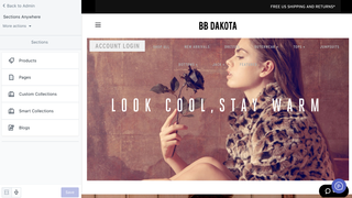 bbdakota advanced theme builder home