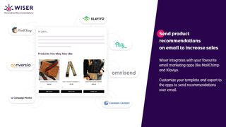Upsell and cross-sell with product recommendations