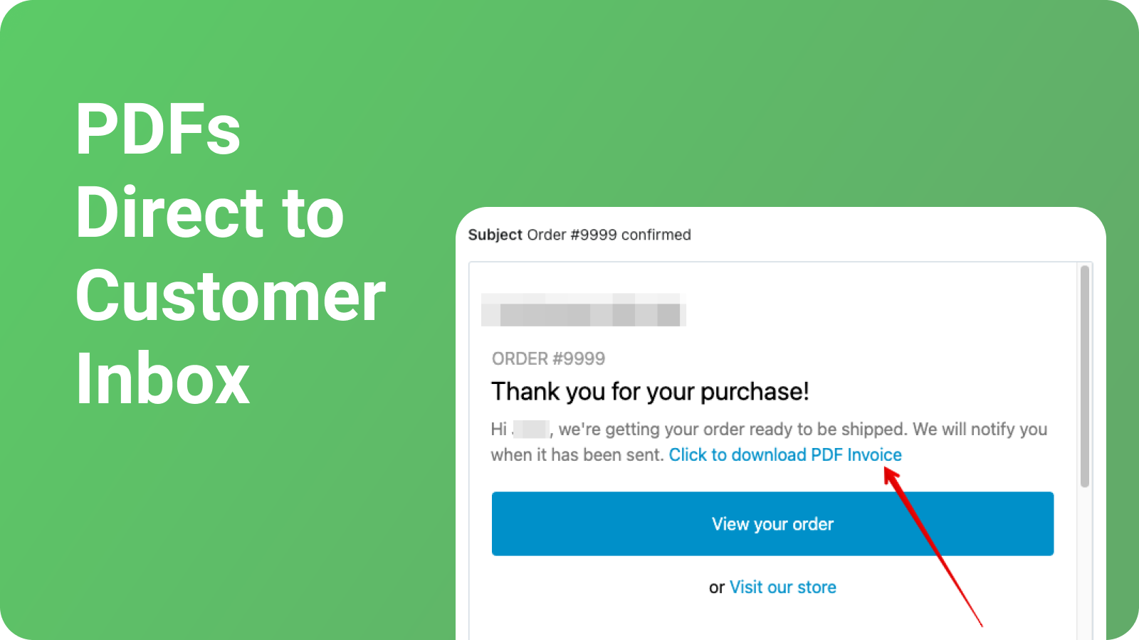 Send PDFs to customers along with Shopify email