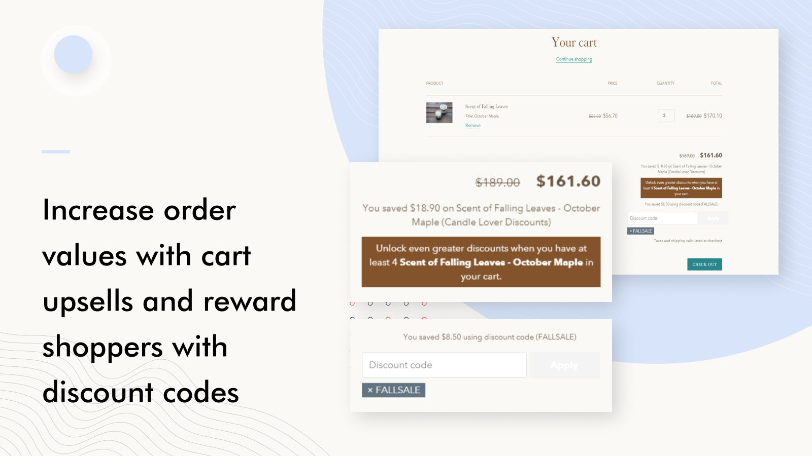 Bulk Discounts Now for Shopify Cart Upsells and Discount Codes