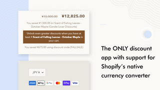 Bulk Discounts Now for Shopify Currency Converter Support