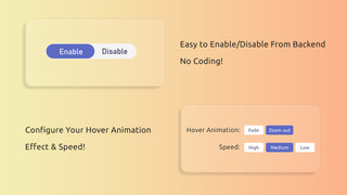 simple enable-disable from the back-end