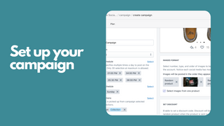 Set up your campaign