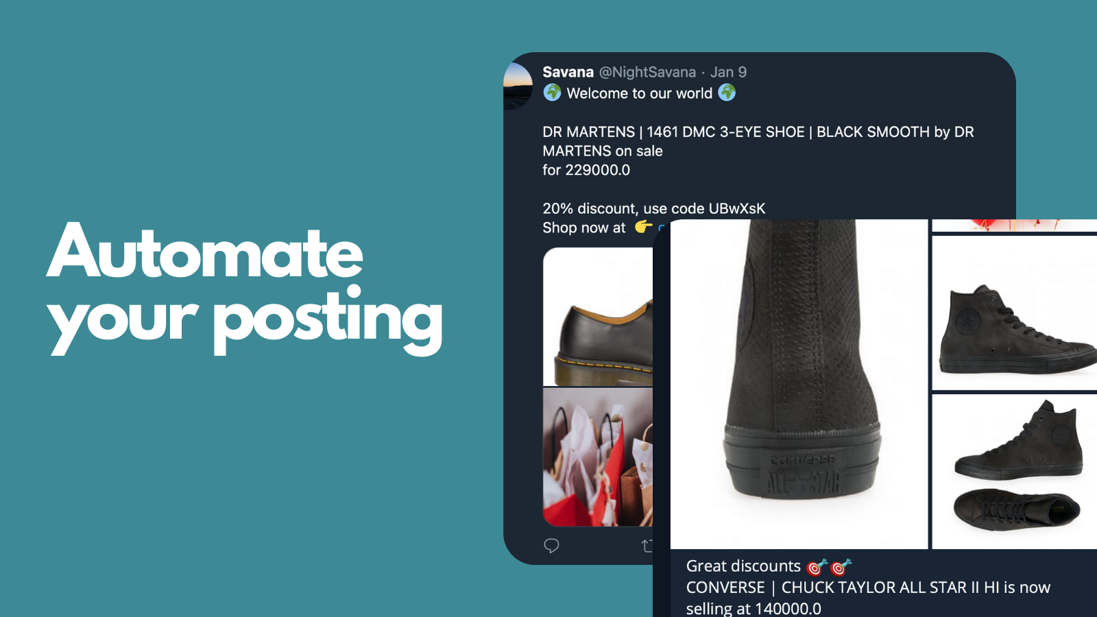 Automate your posting