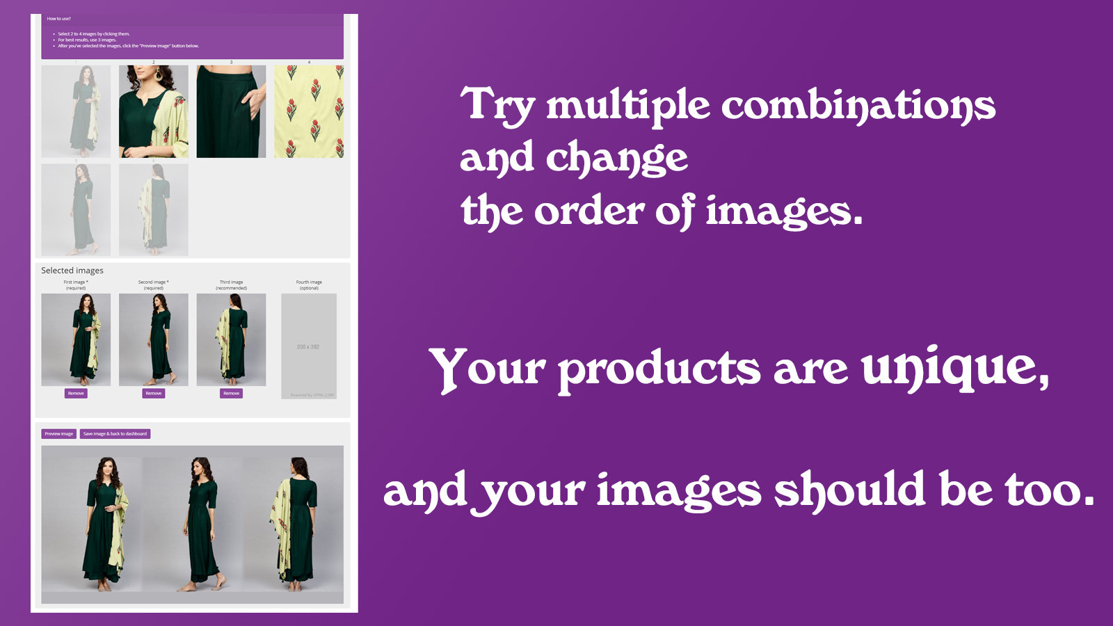 Your social media share image is completely customizable