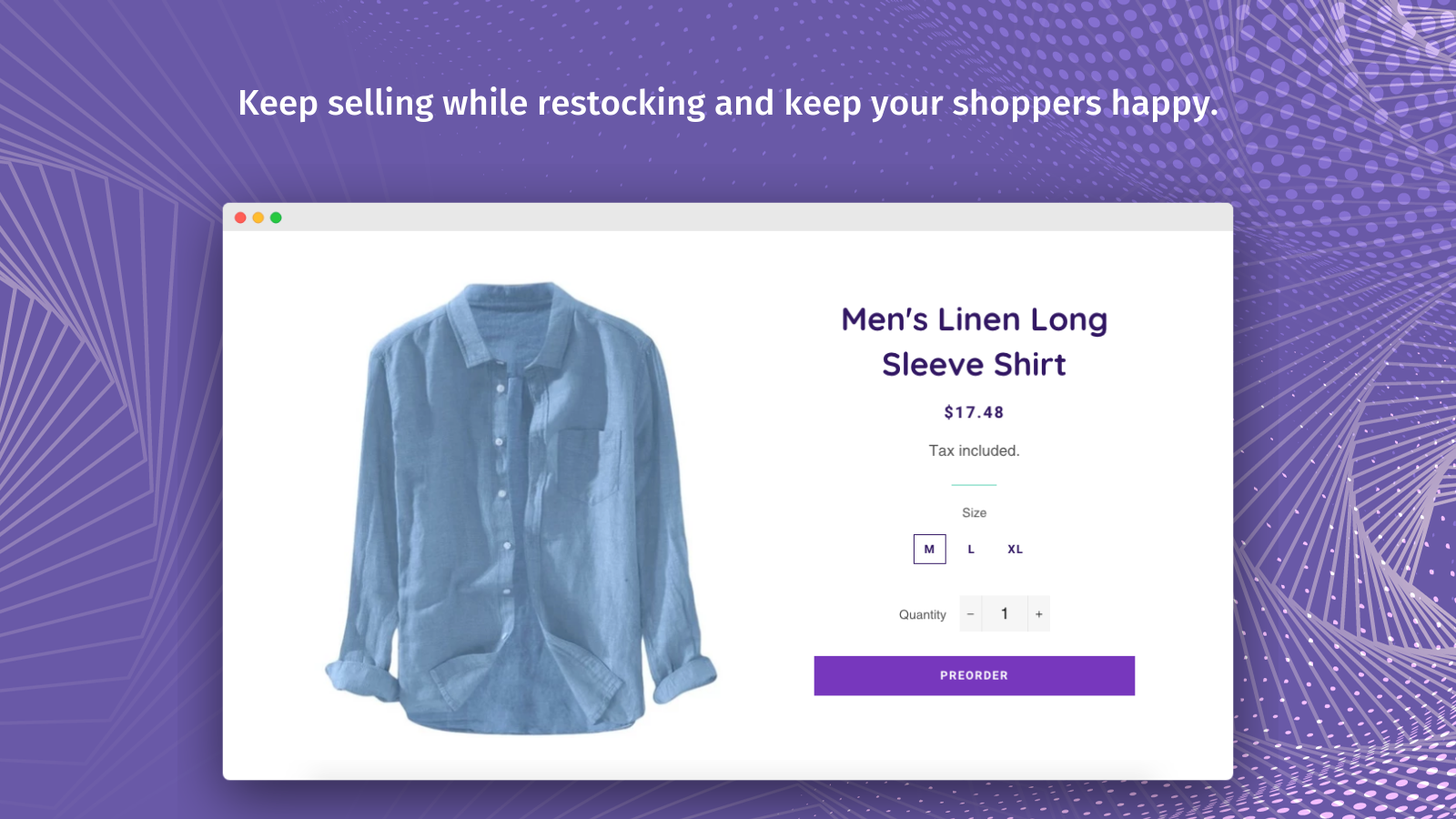 Give Your Customers The Ability To Pre-Order Out Of Stock Items