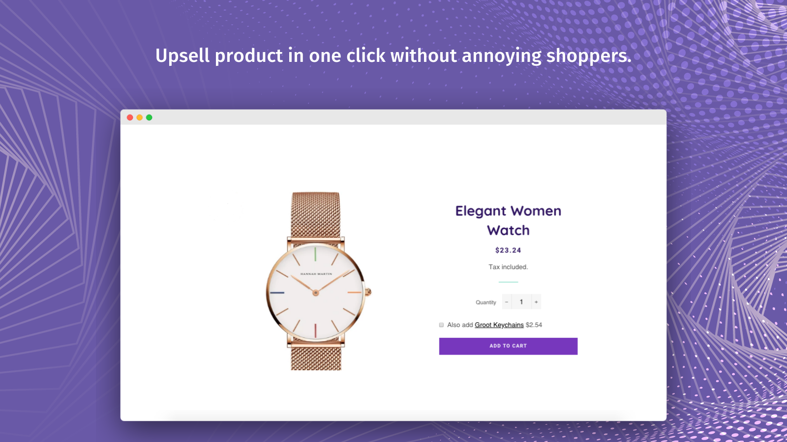 One Click Upsell – Immediately Increase Sales by 10-15%