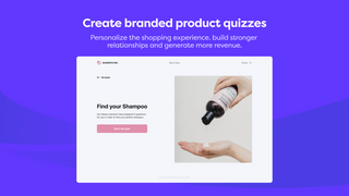 Create branded product quizzes