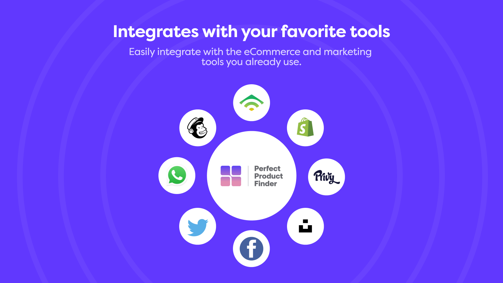 Integrates with your favorite tools