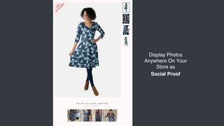 Display Photos Anywhere On Your Store as Social Proof