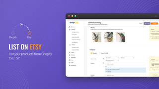 List products from Shopify to ETSY - Etsy upload