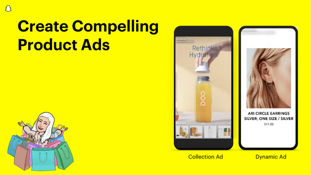Create compelling product ads using Shopify products