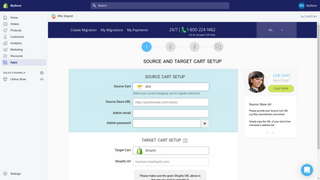 wix to shopify transfer by Cart2Cart