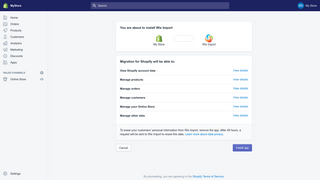 wix to shopify migration by Cart2Cart