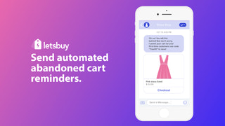 Send automated abandoned cart reminders