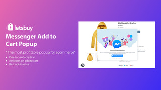 Get the best opt-in rates with Messenger Cart Pop-up