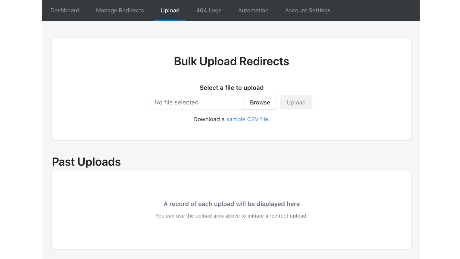 Bulk Update and Edit Store Redirects