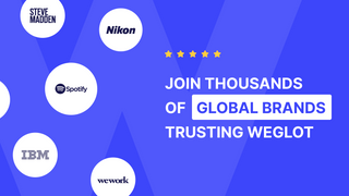 Join thousands of global brands trusting Weglot