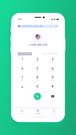 Dial pad in Channels Mobile App