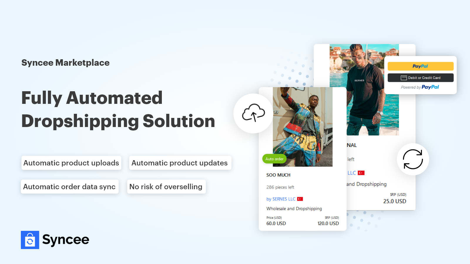 Fully automated dropshipping solution