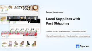 Local suppliers with fast shipping