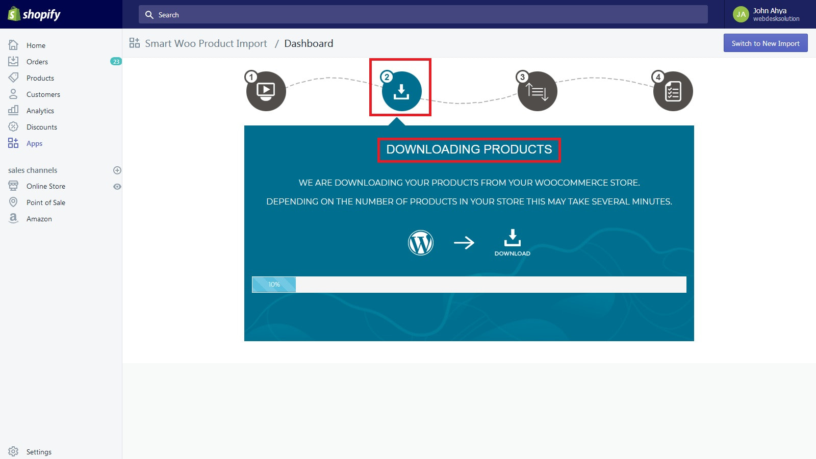 Downloading Products