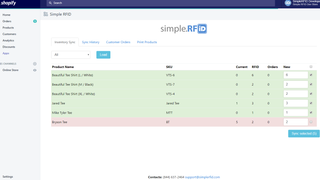 Audit with RFID, identify errors, sync correct inventory