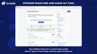 Optimize image, alt, image compression