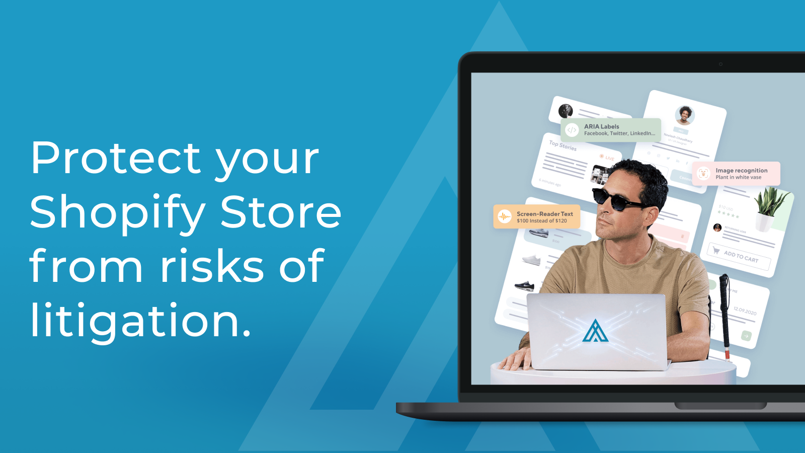 Protect your Shopify Store from risks of litigation.