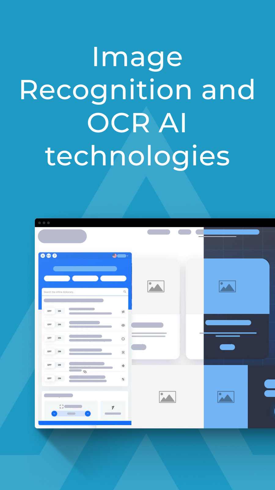 Image Recognition and OCR AI technologies
