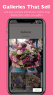 Galleries that sell - easily shop inside galleries