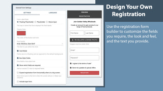 Design Your own Registration Process