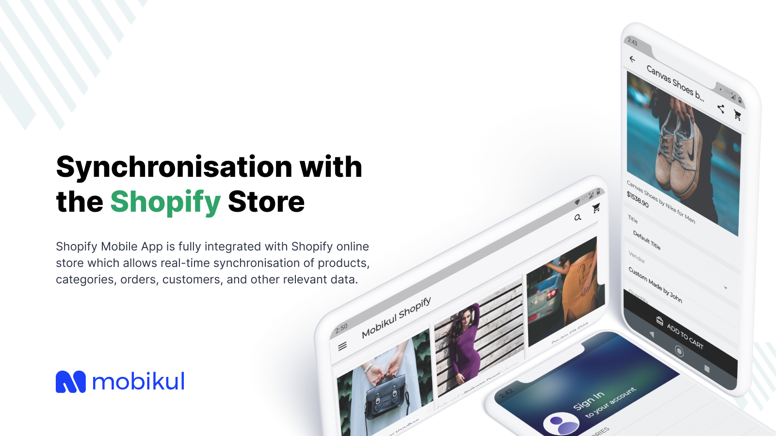 Sync with store