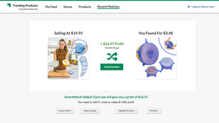 SmartMatch Lets You Find A Supplier For Any Dropshipping Product