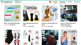 See Strength Metrics Showing Top Products On A store