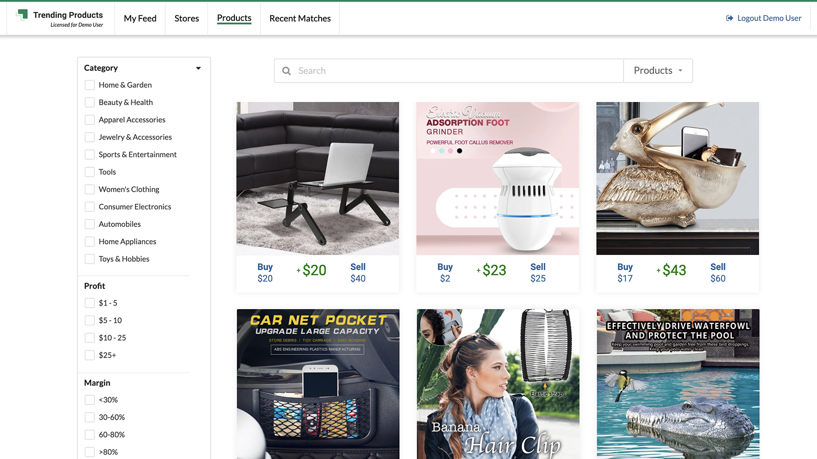Search Trending Products & Stores
