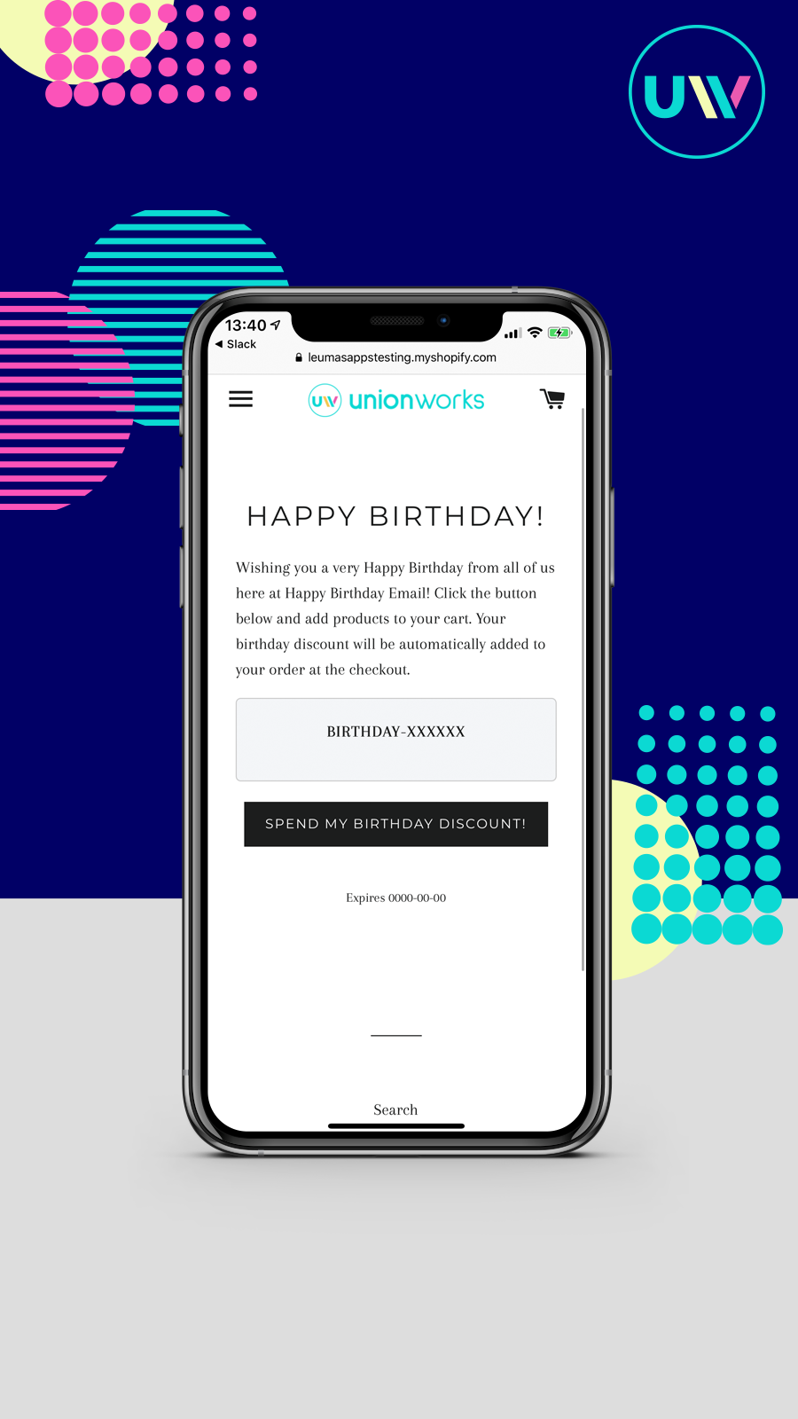 Capture birthdays on landing pages
