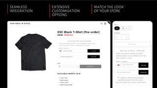 The widgets design can seamlessly integrates with your store