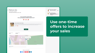 Use one-time offers to increase your sales