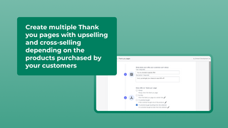 Multiple Thank you pages with upsell
