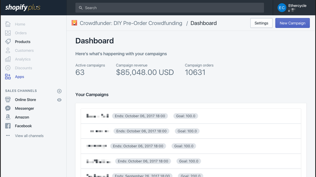 Easy to use Admin Dashboard