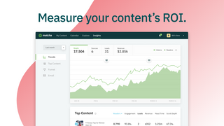 Measure how your blog posts influence traffic and revenue.