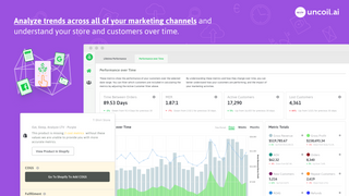 Analyze trends across all of your channels, stores, & customers.