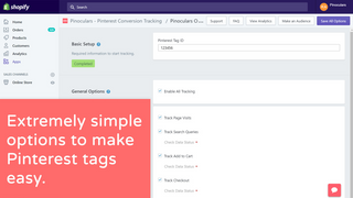 Extremely simple options that makes Pinterest tags easy