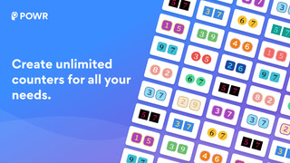 Create unlimited counters for all your pages.