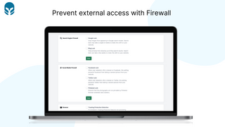 Prevent external access with Firewall - Cybarmor