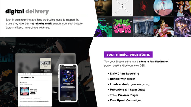 Music & Audio Delivery: Sell Direct & Earn More