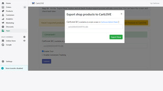 export product interface
