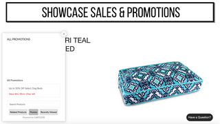 showcase sales and promotions