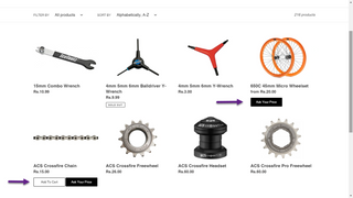 Ask Your Price & Cart Button dor Catalog Page